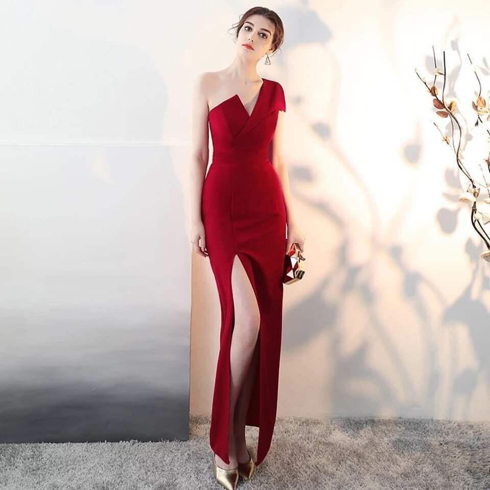 Top 5 kiểu đầm dạ hội xẻ đùi quyến rũ đẹp bất chấp mà nàng nên có